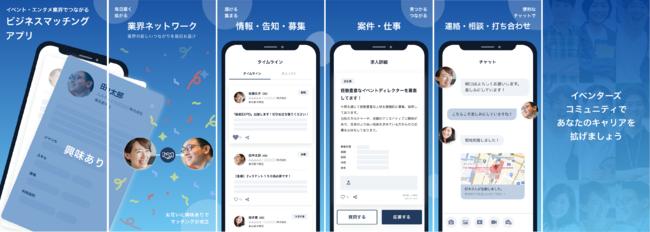 EVENTORSアプリ