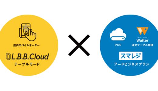 非接触で注文が可能!飲食店オーナー向けサービス「L.B.B. Cloud for スマレジ」が提供開始。
