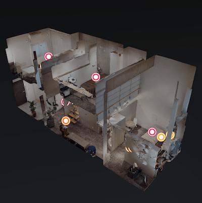 VR店舗の全体図